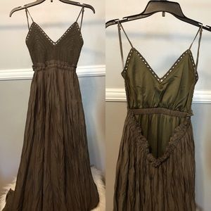 Dresses & Skirts - Long Olive Dress